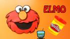 Play Doh Oyun Hamuru ile Elmo Yapımı | Susam Sokağı Elmo Figürü