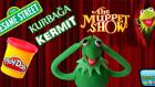 Play Doh Oyun Hamuru ile Kurbağa Kermit Yapımı
