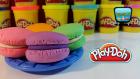 Play Doh Oyun Hamuru ile Makaron Yapımı