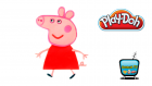 Play Doh Oyun Hamuru ile Peppa Pig Yapımı