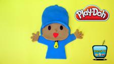 Play Doh Oyun Hamuru ile Pocoyo Yapımı