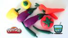 Play Doh Oyun Hamuru ile Sebze Yapımı, Oyun Hamurundan Sebzeler!
