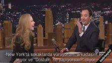 Nicole Kidman'dan Jimmy Fallon'u utandıran itiraf!