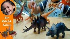 6 Adet Plastik Dinozor ile Oynuyorum - Bir Küçük Adam 2014 [HD] ve Şirinler Oyuncakları