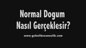 Normal Doğum Videosu (Animasyon)