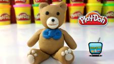 Play Doh Oyun Hamuru ile Ayıcık Teddy Yapımı