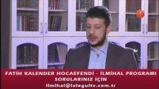 Fatih Kalender Hocaefendi İlmihal Programı 01 Kasım 2014 Lalegül Tv