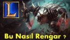 League of Legends - Rengar Kaçış Mekanikleri YENİ !
