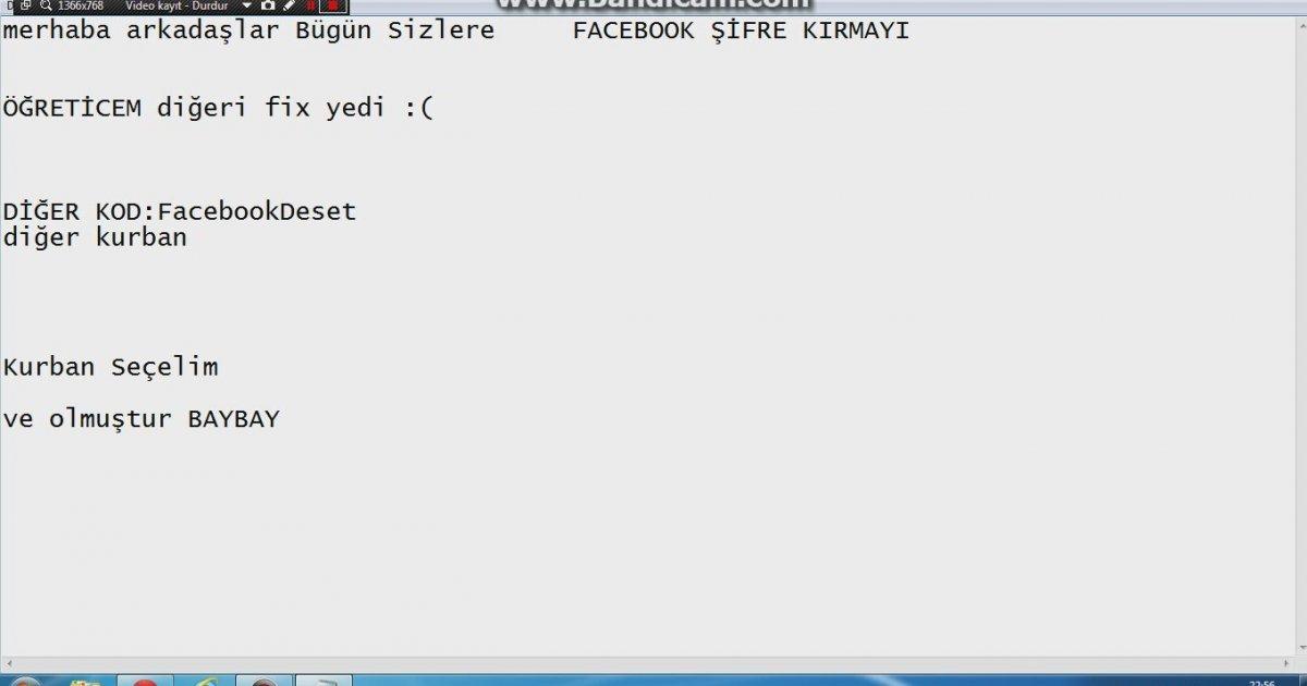 hacktürkiye.com facebook şifre kırma programı