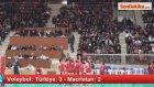 Voleybol: Türkiye: 3 - Macristan: 2