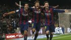 Barcelona 3-1 Atletico Madrid - Maç Özeti (11.1.2015)