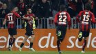 Nice 3-1 Lorient - Maç Özeti (10.1.2015)