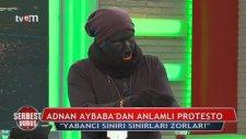 Adnan Aybaba Siyahi Futbolcu Oldu