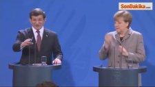 Davutoğlu - Merkel Ortak Basın Toplantısı