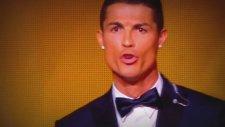 Cristiano Ronaldonun Çıkardığı Tuhaf Ses (Ballon Dor)