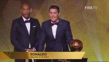 FIFA  Ballon d'Or  Ödülü Cristiano Ronaldo'nun!
