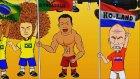 Ronaldo'nun Çıkardığı Tuhaf Sesi Bir de Böyle İzleyin (Ballon d'or)