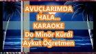 Avuçlarımda Hala Sıcaklığın Var Do Minör Kürdi Karaoke Md Altyapısı