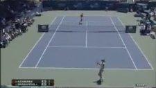 Tenis Oynarken Orgazmik Çığlıklar Atmak!