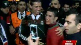 Adanalı Ronaldo & Cristiano Ronaldo Buluşması