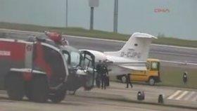 Arıza Yapan Uçağı İterek Vurdurtmak - Trabzon