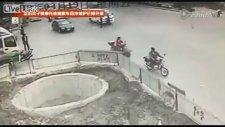 Kaza Odaklı Scooter Sürücüsü