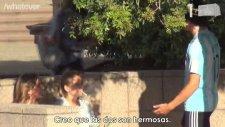 Lionel Messi Kılığında Kız Tavlamak