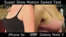 Iphone 5s & Galaxy Note 3 - Slow Motion Testi
