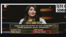 Tuna Kiremitçi ile Ahmet Ümit'i Evlendiren Yarışma