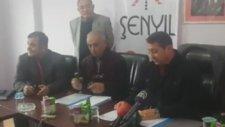 Tokatspor Basın Toplantısında Kapakla Hed Shot
