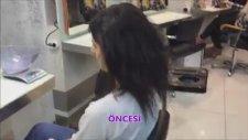 Görünmez Saç Kaynak Mikro Nano Videosu Öncesi - Sonrası