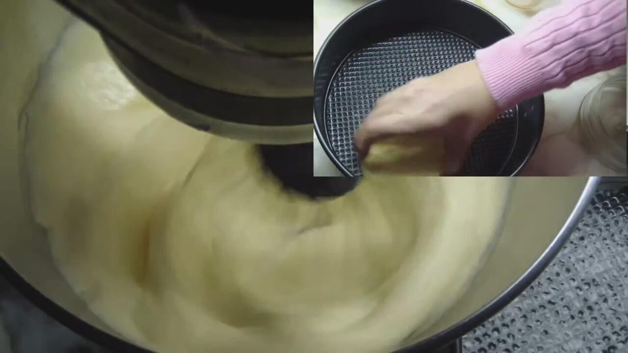 yemek: pandispanya yaş pasta kreması [32]