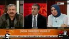 Sırrı Süreyya Önder'in Elif Çakır'la Maytap Geçmesi