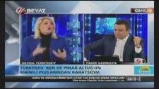 Beyaz Tv'nin Pınar Altuğ'a Başörtü Cevabı