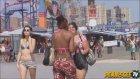 Sosyal Deney - Sokakta Dildo Düşürmek