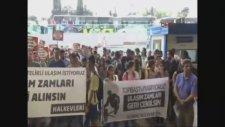 Ulaşım Zamlarını Protesto Eden Eylemcilerin Sivil Polisi Dövmesi