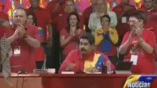 Venezuela Filistin Elçisinin Gözyaşları