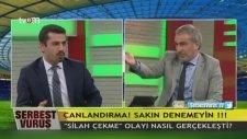 Adnan Aybaba'nın Mehmet Baransu'ya Silah Çekmesi!