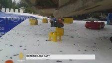 Dozer Kepçesiyle Legoları Birleştirmek