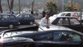 İstanbul'da Tüpü Biten Lamborghini