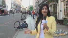 Salaklığıyla Canlı Yayını Trolleyen Bisikletli