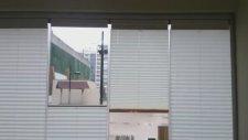 cam balkon perdesi plise perde