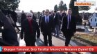Galatasaray Başkanı, Marko Ivkovicın Mezarını Ziyaret Etti