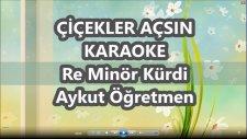 Çiçekler Açsın Re Minör Kürdi Karaoke Md Altyapısı Şarkı Sözü