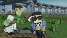 Minecraft Style - A Parody of PSYs Gangnam Style (Music Video)