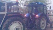 Tokat Zile Emirören Köyü Traktör Çekişmesi Fıat 70 56 Basak 2073