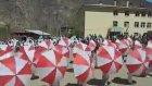 23 Nisan Gösteri Şemsiyesi Kırmızı Beyaz Şemsiye