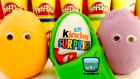 Oyun Hamuru Kaplı Sürpriz Yumurtalar ve Oyuncaklar #4