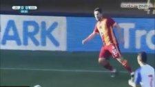 Galatasaray - Guaratingueta 6-0 Geniş Özet Hazırlık Maçı 18.01.2015