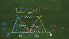 Fizik - Eşdeğer Direnç 2 - Soru Çözümü